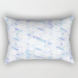 Ghost Town (Ice Jam) Rectangular Pillow
