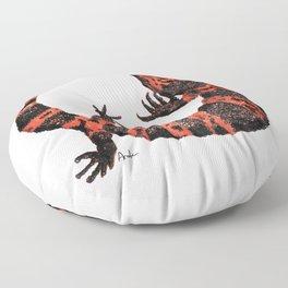 Gila Monster Floor Pillow