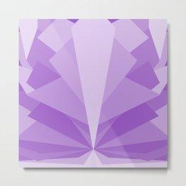 Angular Bloomer - The Amethyst Metal Print