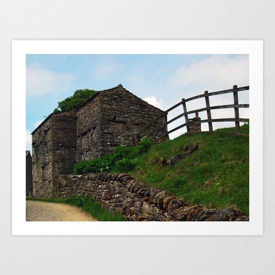 A Keld Barn Art Print