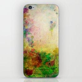 Ginkelmier Land ~ Watercolor Fairy Garden iPhone Skin