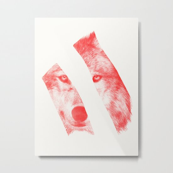 Red by Eric Fan & Garima Dhawan Metal Print