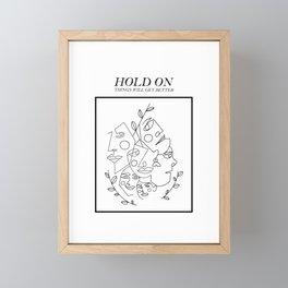 Humans Framed Mini Art Print
