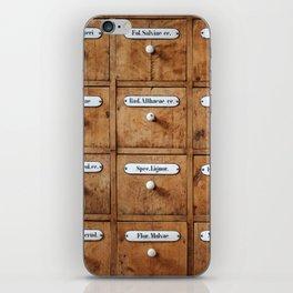 Pharmacy storage iPhone Skin