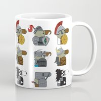 heavy metal Mugs featuring Heavy Metal by nobleplatypus