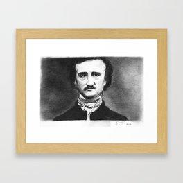 Edgar Allan  Poe Framed Art Print