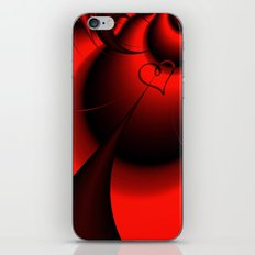Straight to your Heart iPhone & iPod Skin