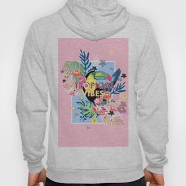 Toucan Tropical Vibes Hoody