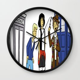 Bill & Ted & Who Wall Clock