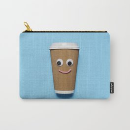 Happy disposable coffee cup Carry-All Pouch