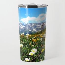 Summer in the Alps Travel Mug
