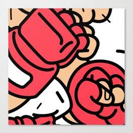Ryu Close-up Canvas Print