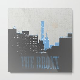 The Bronx Metal Print
