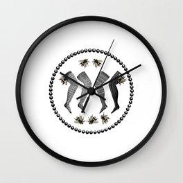 Bee's Knees Wall Clock
