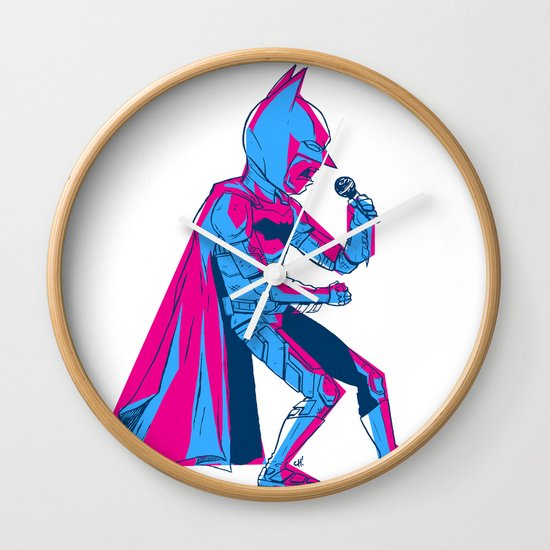 The Dark Knight Rocks Wall Clock