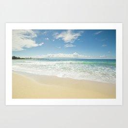 kapalua beach maui hawaii Art Print
