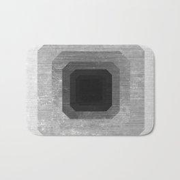 metal polygon Bath Mat