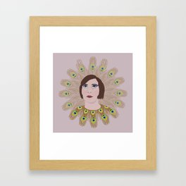 Happy New Year, This year I want to be a beakock Framed Art Print