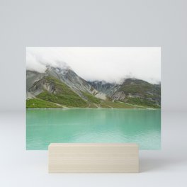 Pristine Alaska Glacier Bay National Park Mini Art Print