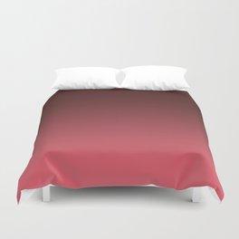 Black-red Ombre Duvet Cover