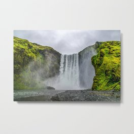 Intrepid Iceland Metal Print