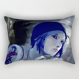 Chloe and The Storm Rectangular Pillow