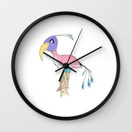 Odd Bird Out Wall Clock