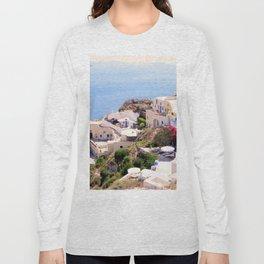 Santorini Charm Long Sleeve T-shirt