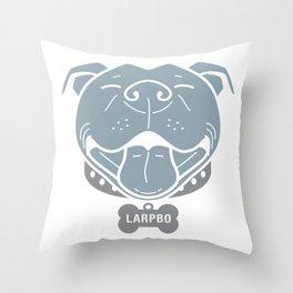 LARPBO Bully Head Throw Pillow