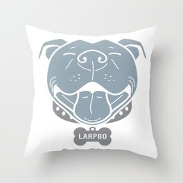 LARPBO Bully Head Throw Pillow