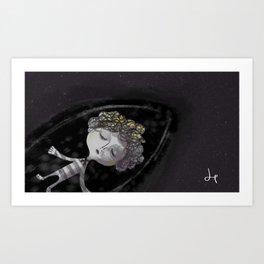 Stargazer + Night Sea Art Print