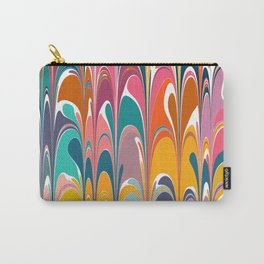 Colorful Abstract Design Carry-All Pouch