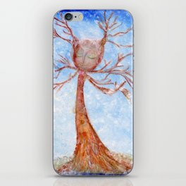 Bathed in Snow iPhone Skin