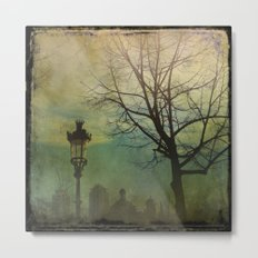 Once pon a time a park in Barcelona Metal Print