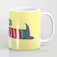dachshund Mugs featuring Dachshund by PINT GRAPHICS