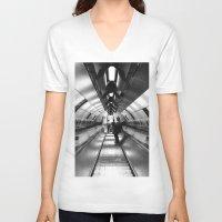 velvet underground V-neck T-shirts featuring Underground by Saaraa Premji