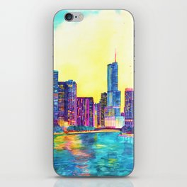 Chicago River iPhone Skin