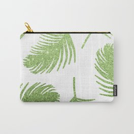 Glitter Palm Leaves Carry-All Pouch