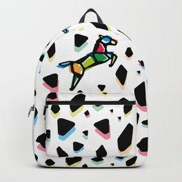 Rainbow Anigami Horse Backpack
