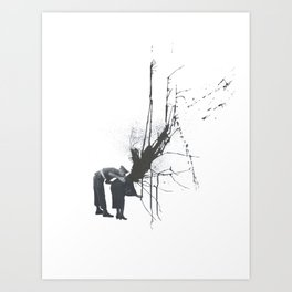 Still Mourning Art Print