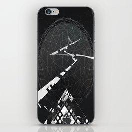 Black Planet iPhone Skin