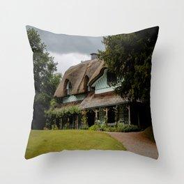 Swiss Cottage Throw Pillow