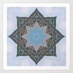 Kaleidoscope Star Art Print