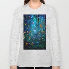Magical Path Butterflies Long Sleeve T-shirt