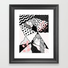 Intersections Framed Art Print