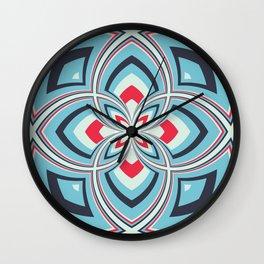 Spiral Rose Pattern B 3/4 Wall Clock