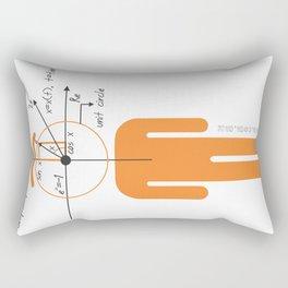 decaf euler Rectangular Pillow
