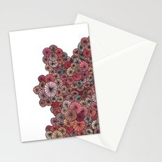 Pink Pinwheels Stationery Cards