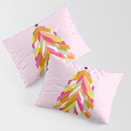 Rainbow Christmas Tree Pillow Sham