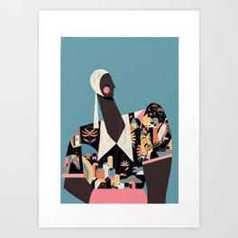 MALI Art Print